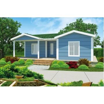 87m² Single Storey Prefab House