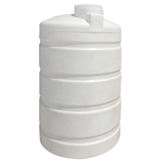 1500 LT Polyethylene Vertical Water Depot Tank